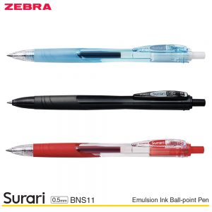 Zebra Surari Emulsion Ink Ball-Point Pen 0.5MM BNS11