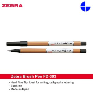 Zebra Brush Pen Medium FD-303 Calligraphy Pen Comics Dedicated