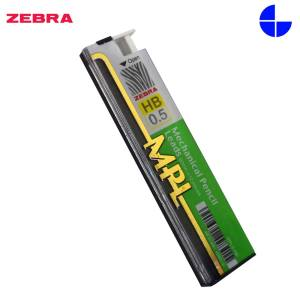 Zebra HB 0.5MM Mechanical Pencil Lead (MPL)-MPL5-HB