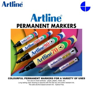 Artline 250 Sign Pen 0.4mm Fine Line Style Permanent Marker EK-250N